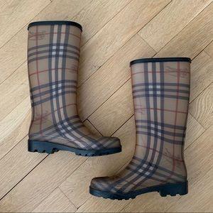 Burberry Heymarket Check Rainboots